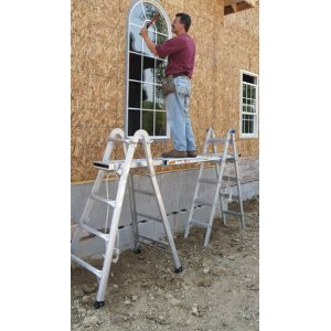Adjustable ladders